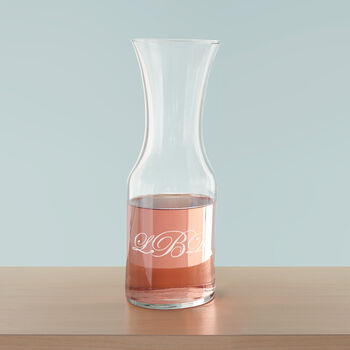 Glass Personalized Carafe/Decanter, , default