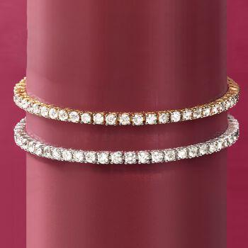 5.00 ct. t.w. Diamond Tennis Bracelet in 14kt Yellow Gold, , default