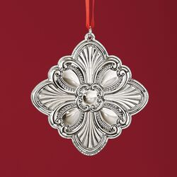 Gorham 2018 Annual Sterling Silver Cross Ornament - 5th Edition, , default