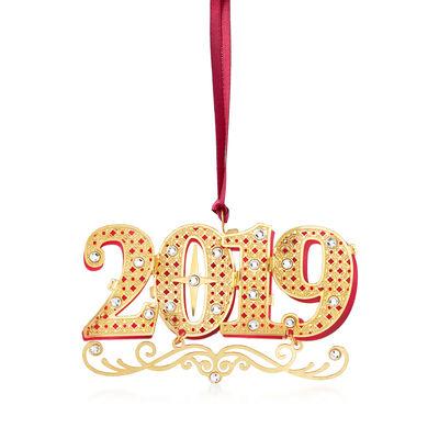 2019 Crystal Ornament, , default