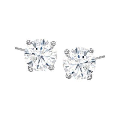 C. 1990 Vintage 1.50 ct. t.w. Diamond Stud Earrings in 14kt White Gold, , default