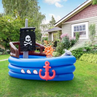 Child's Pirate Boat Inflatable Sprinkler