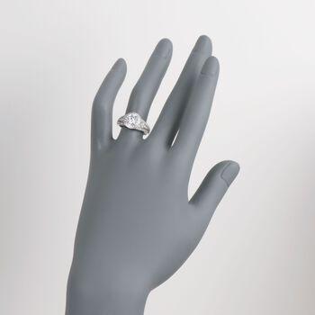 Simon G. .49 ct. t.w. Diamond Engagement Ring Setting in 18kt White Gold, , default