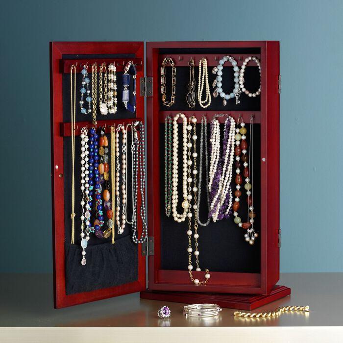"""Safekeeper"" Spinning Jewelry Organizer"