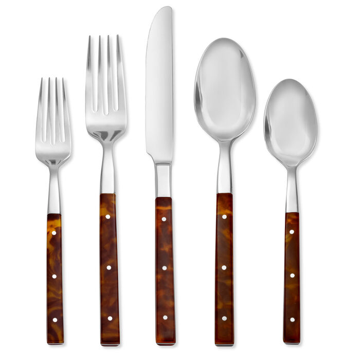 "Argent Orfevres ""St. Laurent"" 5-pc. 18/10 Stainless Steel Place Setting, , default"
