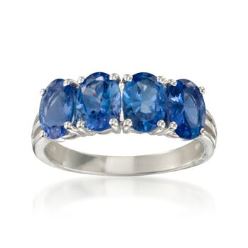 2.80 ct. t.w. Tanzanite Ring in Sterling Silver, , default