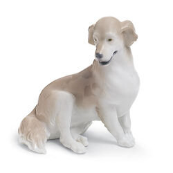 "Lladro ""Golden Retriever"" Porcelain Figurine, , default"