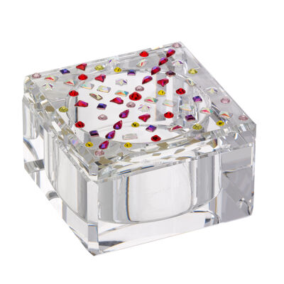 "Judith Ripka ""Gemstone"" Crystal Square Box"