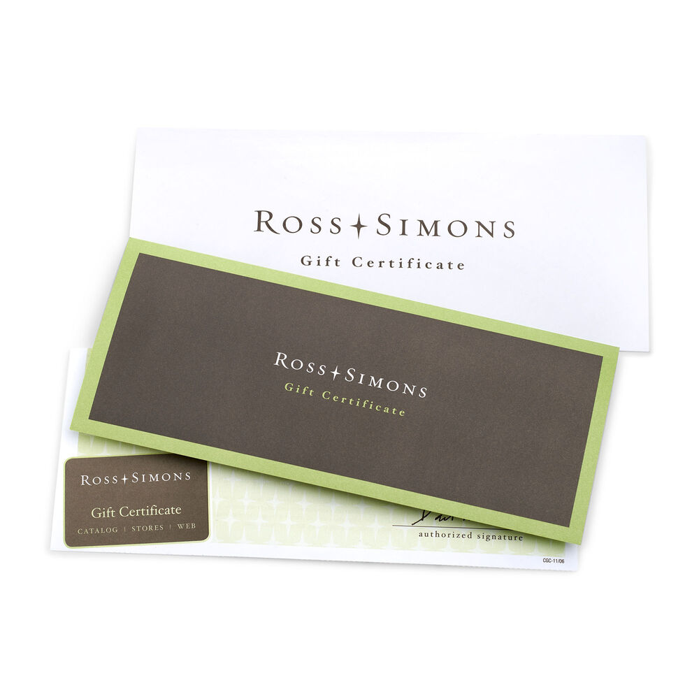 Ross Simons Gift Certificate Ross Simons