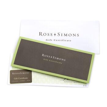 Ross-Simons Gift Certificate, , default
