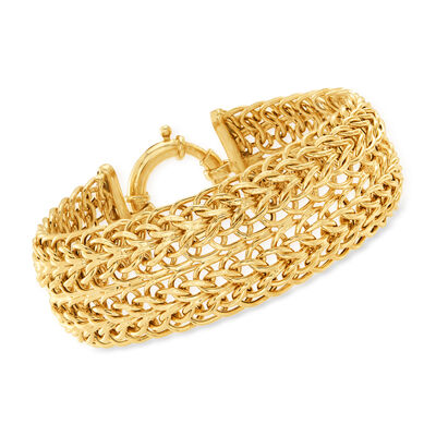 14kt Yellow Gold Multi-Link Bracelet