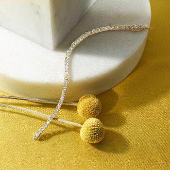 8.00 ct. t.w. Diamond Tennis Bracelet in 14kt Yellow Gold, , default