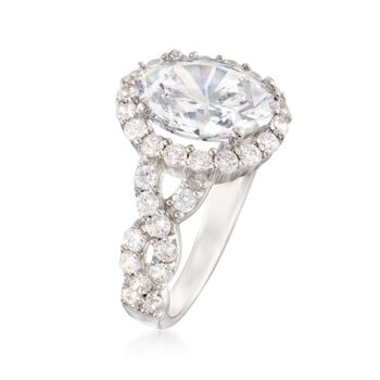 5.00 ct. t.w. CZ Ring in Sterling Silver, , default