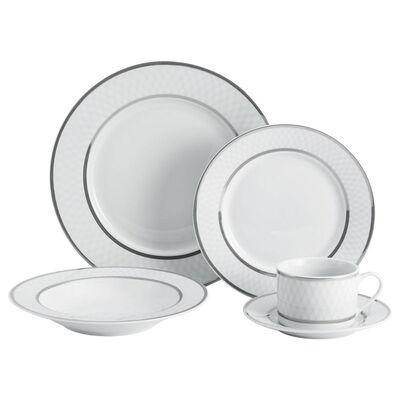 "Mikasa ""Leo Platinum"" 40-pc. Service for 8 Dinnerware Set, , default"