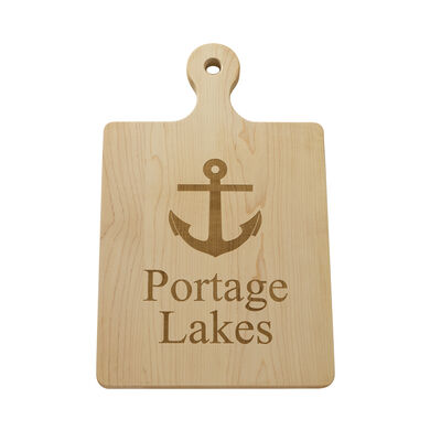 Personalized Nautical Maple Wood Artisan Board, , default