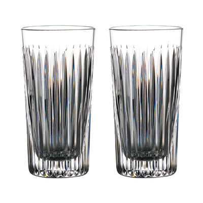 """Waterford Crystal """"Gin Journeys"""" Set of Two Aras Highball Glasses, , default"""