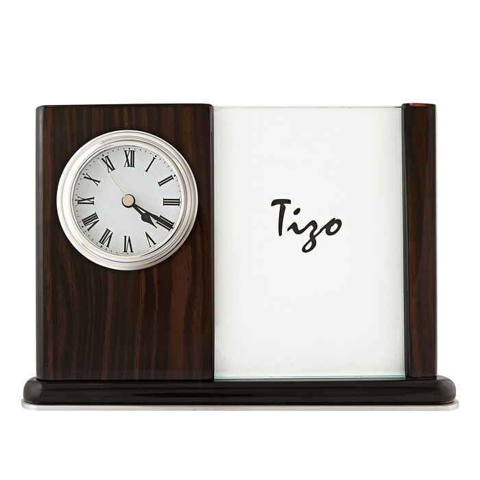 Wooden Picture Frame Clock