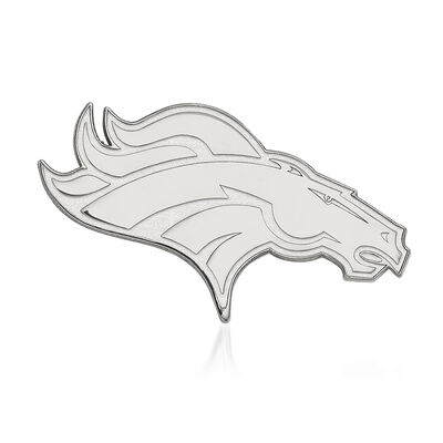 Sterling Silver NFL Denver Broncos Lapel Pin, , default