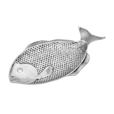 "Wilton Armetale ""Sea Life"" Large Fish Tray, , default"