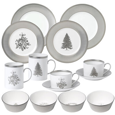 "Wedgwood ""Winter White"" Dinnerware Collection"