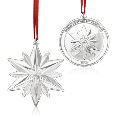 Gorham 2019 50th Anniversary 2pc. Ornament Set, , default