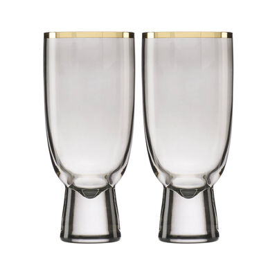Trianna Slate 2-Piece All-Purpose Glassware Set, , default
