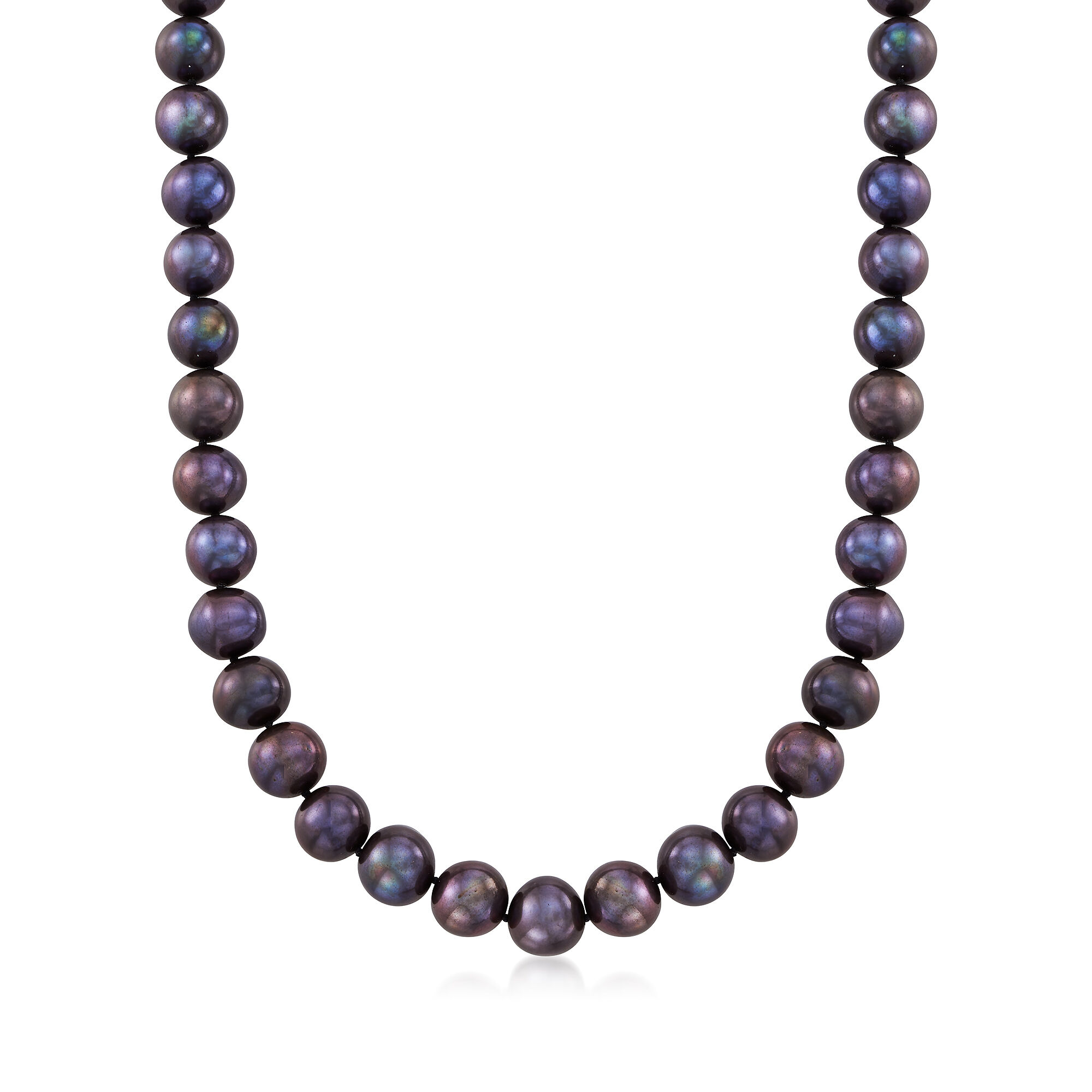 Purple pearl shell mother of crystal pearl flower pendant necklace 18/'/'