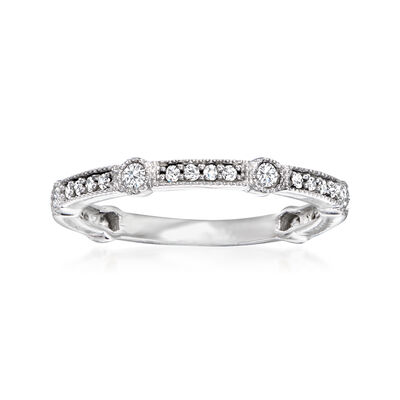 .33 ct. t.w. Diamond Ring in 14kt White Gold
