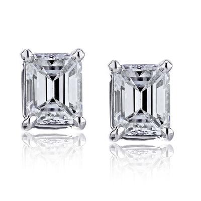 1.40 ct. t.w. Certified Diamond Stud Earrings in Platinum, , default
