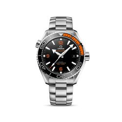 Omega Seamaster Planet Ocean Men's 43.5mm Stainless Steel Watch With Black Dial , , default