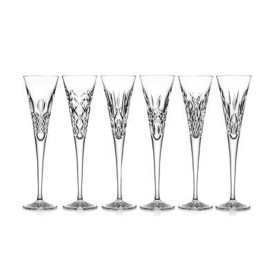 "Waterford Crystal ""Heritage"" Set of 6 Flute Glasses, , default"