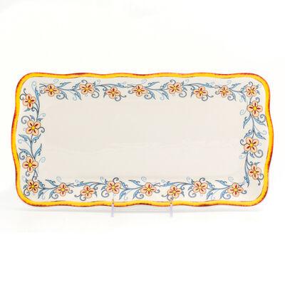"""Euro Ceramica """"Duomo"""" Renaissance Platter"""
