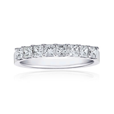 1.60 ct. t.w. Princess-Cut Diamonds in 14kt White Gold, , default