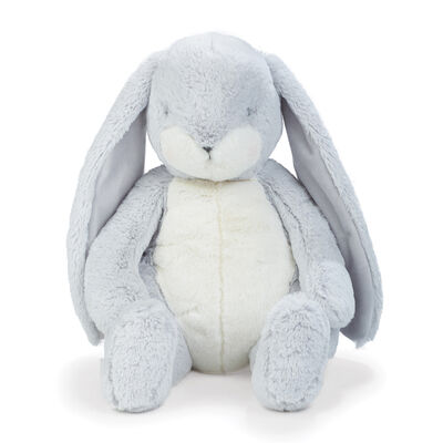 Bunnies by the Bay Big Nibble Gray Plush Bunny