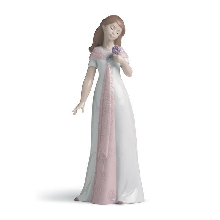 "Nao ""Elegant Post"" Porcelain Figurine, , default"