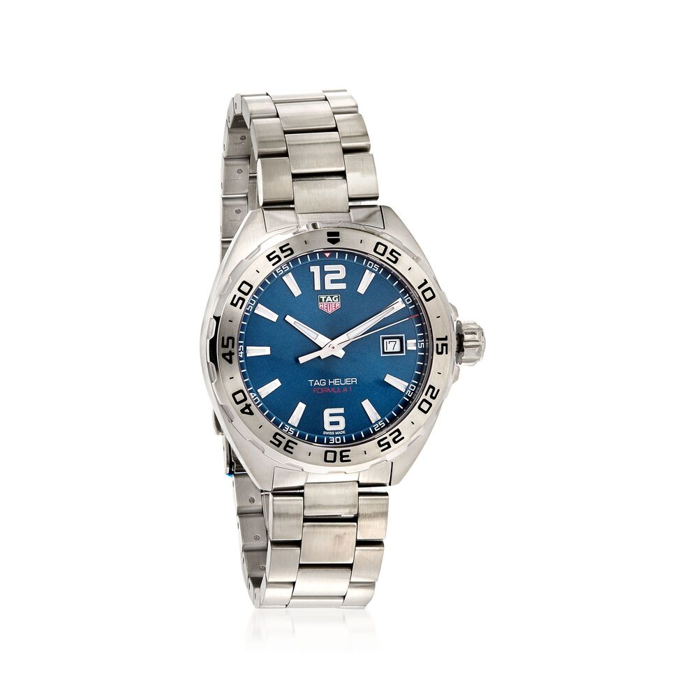 23d8a3cb7b79 TAG Heuer Formula 1 Men s 41mm Stainless Steel Watch - Blue Dial ...
