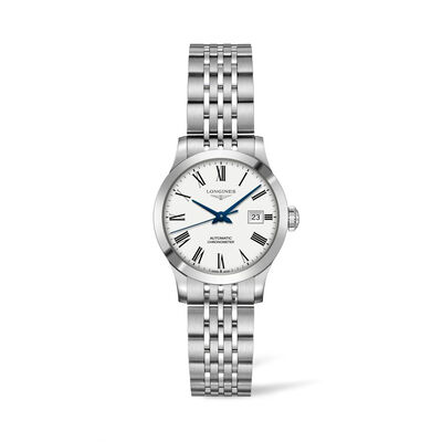 Longines Record Women's 26mm Automatic Stainless Steel Watch
