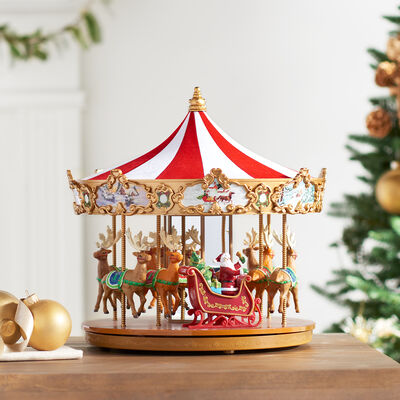 Mr. Christmas Very Merry Carousel, , default