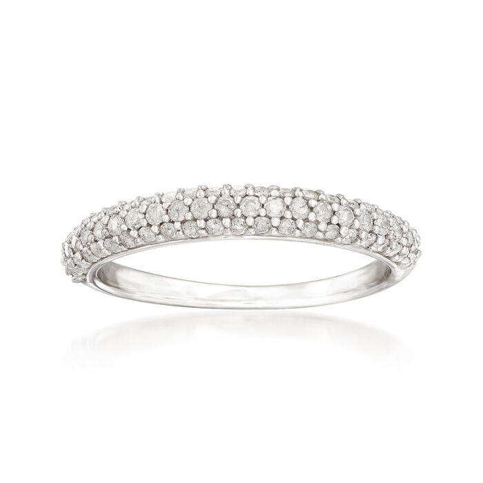 .50 ct. t.w. Diamond Pave Ring in Sterling Silver , , default