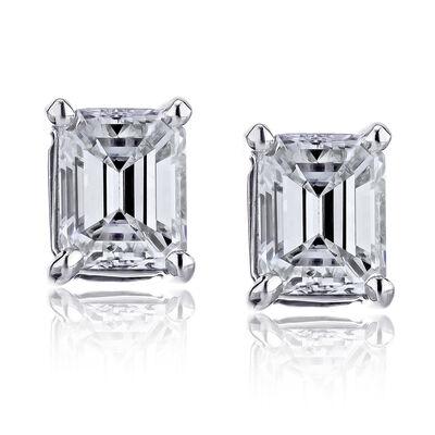 .70 ct. t.w. Diamond Stud Earrings in 14kt White Gold, , default