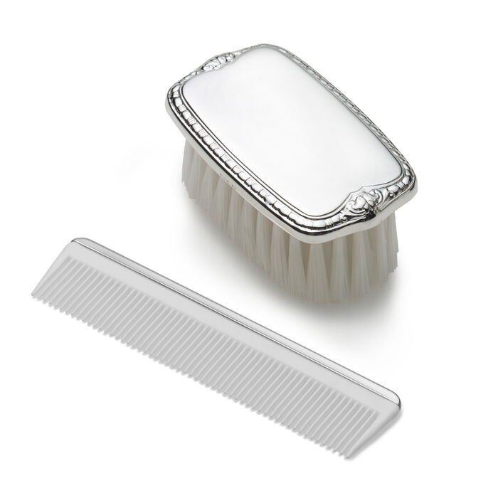 Empire Sterling Silver Child's Brush and Comb Set