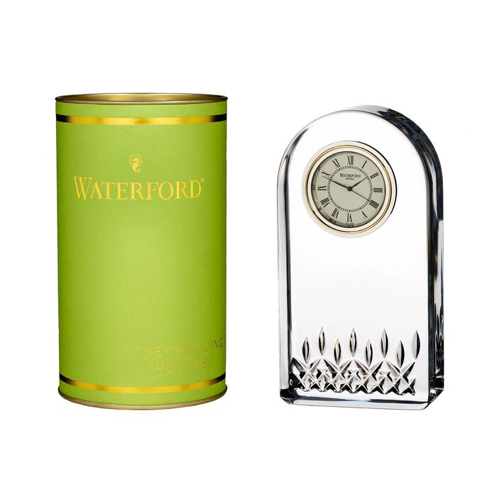 """Waterford Crystal """"Giftology"""" Lismore Essence Clock, , default"""