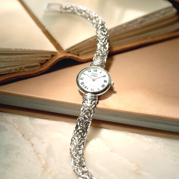 Saint James Women's 22mm Byzantine Watch in Sterling Silver