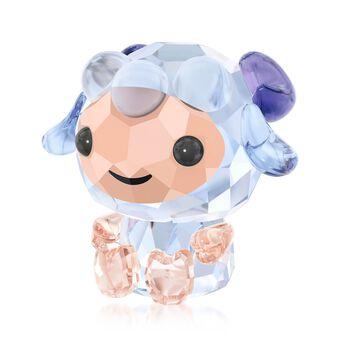 "Swarovski Crystal ""Sincere Sheep - Chinese Zodiac"" Crystal Figurine , , default"