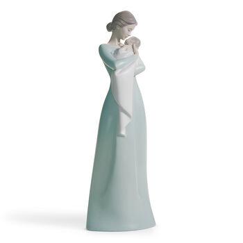 "Lladro ""Mother's Fond Embrace"" Porcelain Figurine, , default"