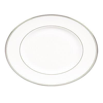 "Vera Wang for Wedgwood ""Grosgrain"" Oval Platter, , default"