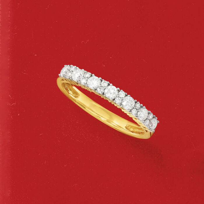.50 ct. t.w. Diamond Ring in 14kt Yellow Gold