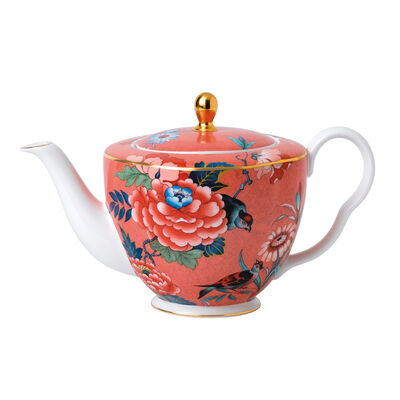 "Wedgwood ""Paeonia Blush"" Teapot"