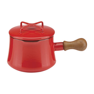 "Dansk ""Kobenstyle"" Chili Red Hot Chocolate Pot with Lid"