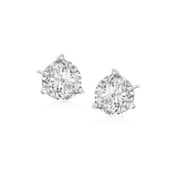 1.00 ct. t.w.Diamond Martini Stud Earrings in Platinum, , default